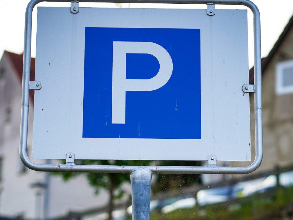 trafikskyltar parkering